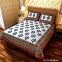 Jaipuri Cotton Double Bed Sheet