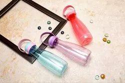 Thirst Quencher Screw Cap Plastic Fridge Water Bottle, Capacity: 460 Ml