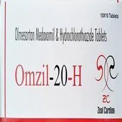 Olmesartan Medoxomil And Hydrochlorothiazide Tablets