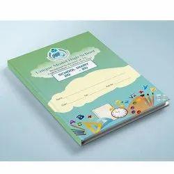 7-10 Days Art Paper School Diary Printing, in Pan India