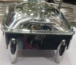 Stainless steel shefn dish