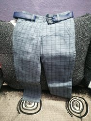 Kids Check Trouser