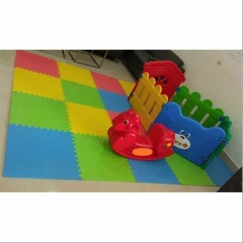 Plastic Multicolor Kids Play School Toy