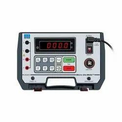 Low Resistance Meter