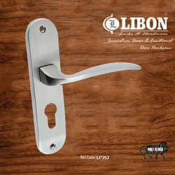 Libon Lever LP352 Zinc Alloy Mortise Combo Lock Set, Stainless Steel