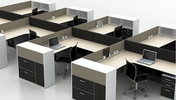Particle Board & MDF Modular Office Furniture