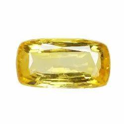 Cushion - Cut Unheat Yellow Sapphire