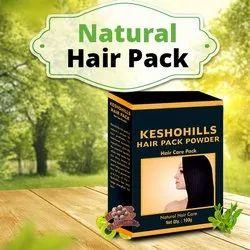Herbal Hair Pack Keshohills - 100gm - Healthy, Shiny & Nourished Hair