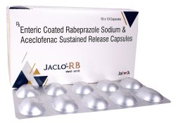 Rabeprazole 20 Mg & Aceclofenac 200 Mg Sr Cap