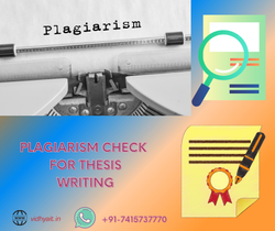 Plagiarism Checking Services for Thesis writing