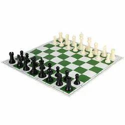 Vinyl Foldable Tournament Chess Set