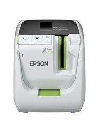 ABS Plastic Thermal Transfer Epson Label Printer, Max. Print Width: 36mm, Max. Print Length: Auto
