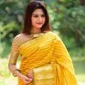 Latest Chanderi Silk Saree
