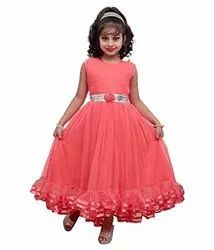 Girls red gown