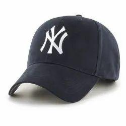 NY Black Baseball Cap