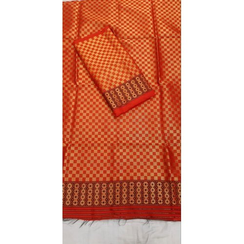 Printed Party Wear Mekhela Chadar, Packaging Type: Plastic Bag