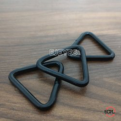Mild Steel Triangle Buckles Black