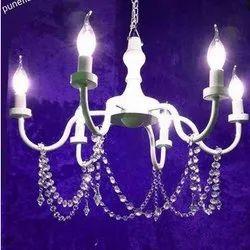 Brass Hanging LED Decorative Chandelier, For Decoration