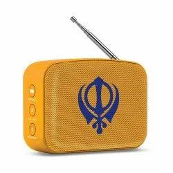 Saffron Orange Carvaan Mini (Gurbani) - Saregama, Model Name/Number: SEN007-Carvaan-Mini-Gurbani