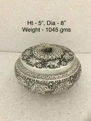Antique Silver Plated Box