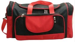 20 Inch Coated Fabric Travel Duffle Bag
