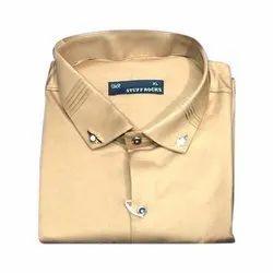 Stuff Rocks Full Sleeve Mens Formal Shirt, Machine wash