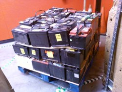 Exide WE OFFER DRAINED BATTERY SCRAP