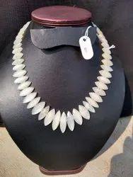 White Rainbow Stone Beads