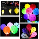 Polka Dot Latex Led Balloons For Birthday And Decorations