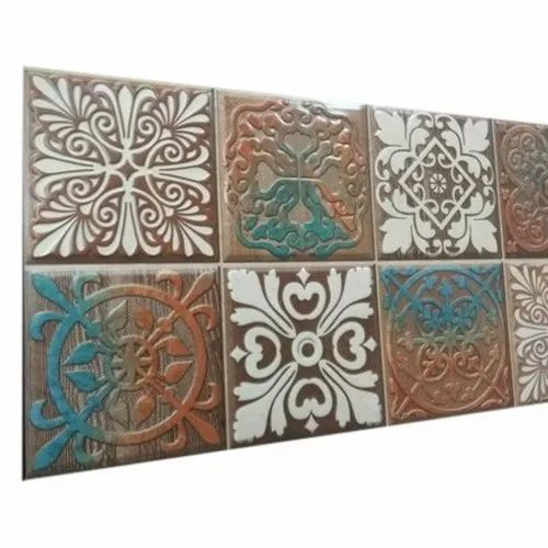 Ceramic Designer Porcelain Wall Tiles, Packaging Type: Corrugated Box, Size: 1x2 feet