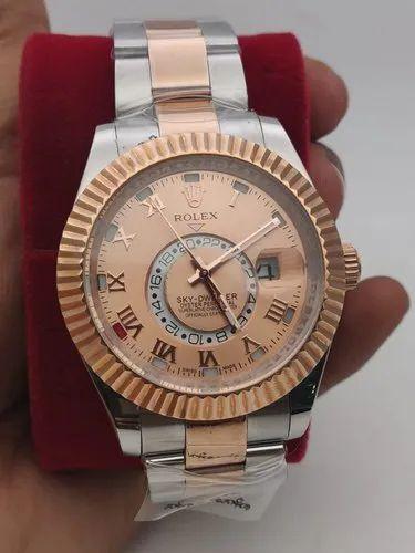 Rose Gold Rolex Sky Dweller Watches, Mahavir Telecom