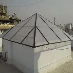 FRP Pyramid Dome
