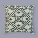 Embroidered Blue Color Decorative Sofa Cushion Cover Set Of 4 Cushion Cover