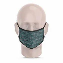 Vintage Car Reusable Printed Face Mask