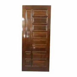 Modern Wooden Panel Door