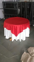 Mk Damask Table Cloth, Size: Dia