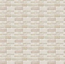 Matte Gloss Natural Stone Outdoor Wall Tile, Thickness: 15-20 mm