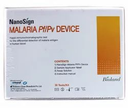 Nanosign Malaria Antigen Pf/Pv Rapid Test Kit