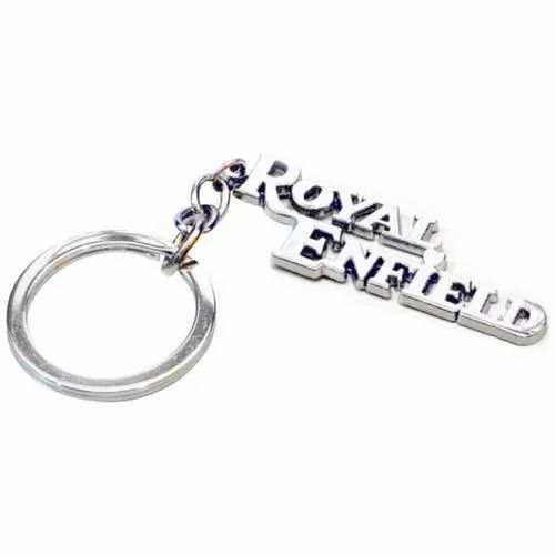 Silver Ss Royal Enfield Keychain, Packaging Type: Packet, For Gift, Promotional