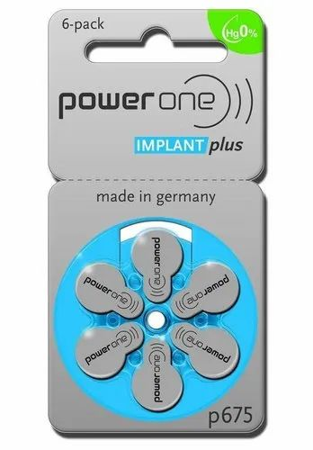 Power One Cochlear Implant Plus Batteries