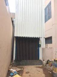 Warehouse Hydraulic Cage Lift
