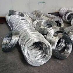 Galvanized Iron GI WIRE 4MM, Gauge Size: 8, 50