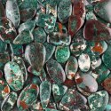 Natural Chrysocolla Cabochon In Assortment For Jewelry Making