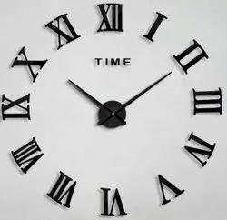 Analog Festival Metal Design Wall Clock for Home