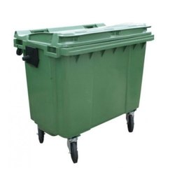 660 Liter HDPE Dustbin