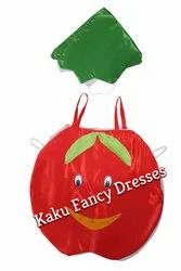 Kids Smiley Apple Cutout Costume