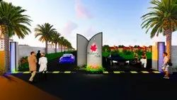 G+2 Mulberry Park Residential Plots, Dholera, Area of Construction: New