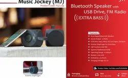 Bluetooth Speaker with USB Drive FM Radio