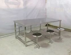 canteen table six seater