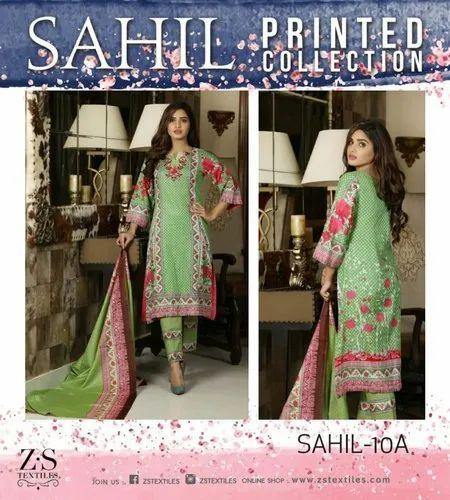 f792dbb123 Zs Textiles Sahil Lawn Vol 1 Pakistani Suit, Lawn suit ...